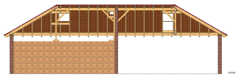 Dachkonstruktion Walmdach Dachkonstruktion Walmdach Automobil Bau